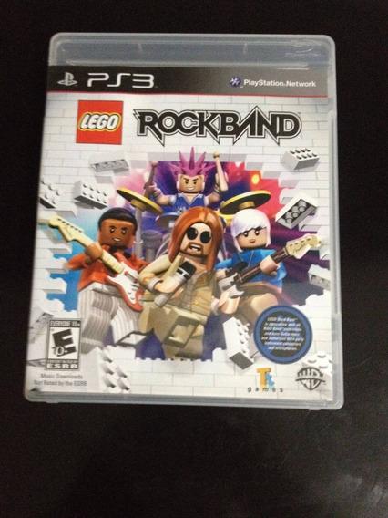 Game Lego Rock Band - Ps3 (novo Lacrado)