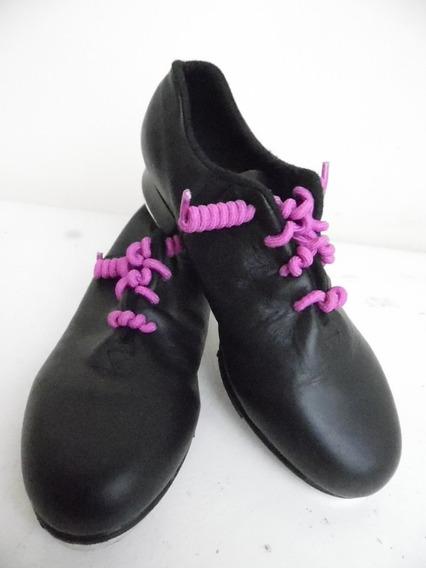 Zapatos Niña Tap Bailarina Bailar Bloch 17 Mex. L370