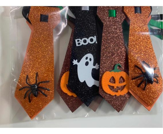 Pets Gravata Masculina Halloween - 10 Unidades