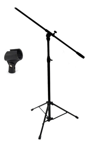 Pie Mxp Microfono Reforzado Con Pipeta Paragua Color Cuotas