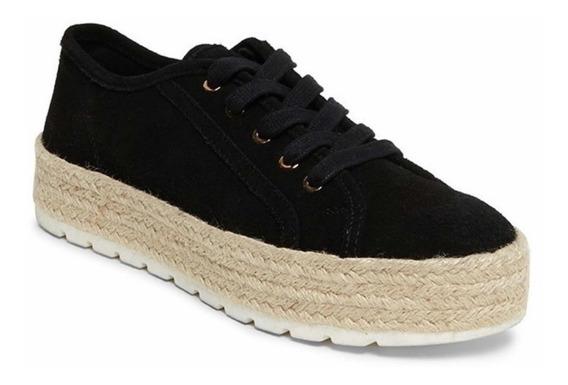 Zapatos Steve Madden Gamer Black Suede 24.5 Cm Y 25cm