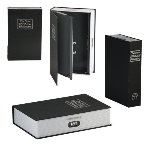 Cofre Com Segredo Senha Livro Camuflado Grande Portatil