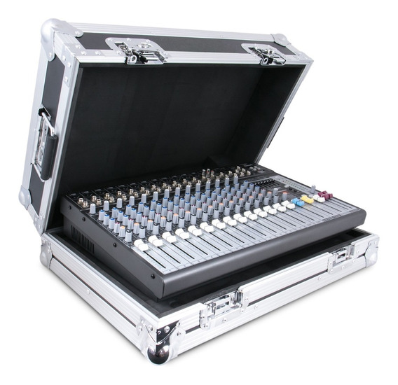 Mesa De Som Arcano Amix-16 Metal C/ Case Am-eq16