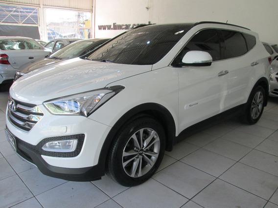 Hyundai Santa Fe 7 Lugares Teto Solar Unico Dono Multimidia