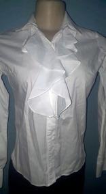 Camisa Branca Com Babado Polo Play