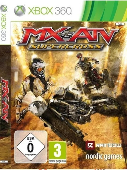Mx Vs Atv Supercross-xbox 360-midia Digital