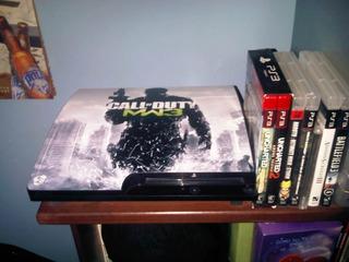 Playstation 3 Con Su Caja Y Accesorios Originales