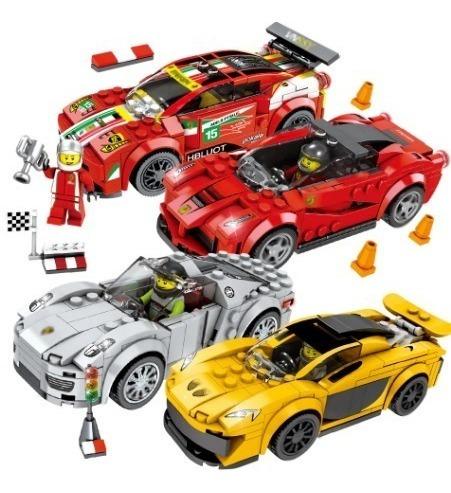 Carrinho De Brinquedo Educativo Bloco Montar Lego Compatível