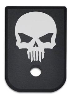 Tapa Para Cargador Glock Calavera Skull 380 G 25 17 19 G1-5