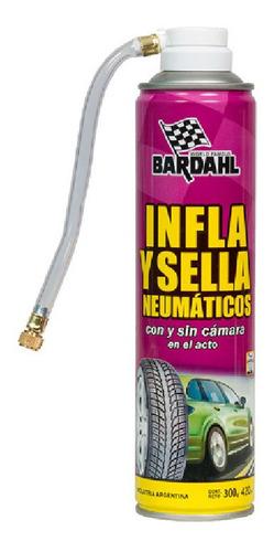 Imagen 1 de 4 de Bardahl Infla Y Sella Neumaticos 420ml