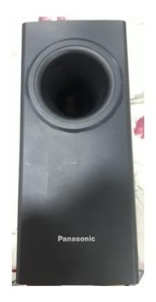 3 Caixas De Som Do Dvd Teather System Panasonic Mod. Sapt75