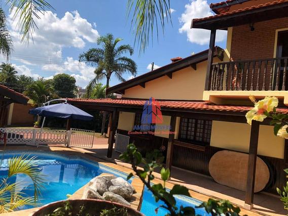 Sobrado Com 3 Dormitórios À Venda, 161 M² Por R$ 890.000,00 - Residencial Vale Das Nogueiras - Americana/sp - So0271