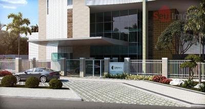 Apartamento Residencial À Venda, Edson Queiroz, Fortaleza. - Codigo: Ap0619 - Ap0619
