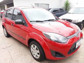 Ford Fiesta Flex 2013 Vermelha