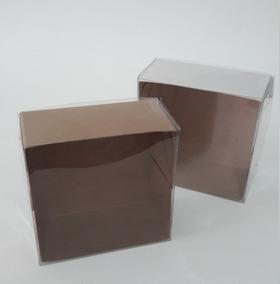 200 Caixas P 4 Docinhos Brigadeiro Doce Tampa Transparente