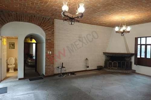 Renta Casa Sola Lomas Altas Constituyentes Reforma Santa Fe Ciudad De México Terreno 320 M2 Entrega Inmediata