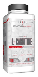 Purus Labs Foundation Series L-carnitina (100 Cápsulas)