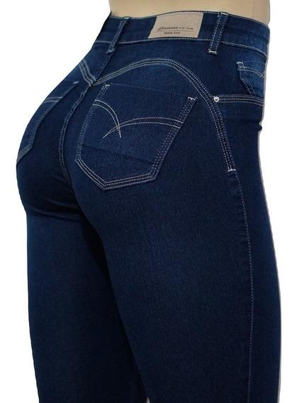 Calça Sawary Jeans Original Cintura Alta Valoriza Bumbum