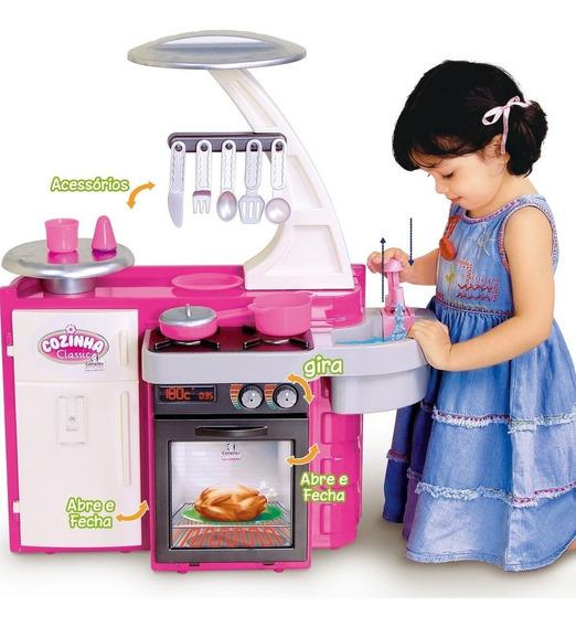 Promoção!! Cozinha Classic Cotiplás P/ Criança Brincar