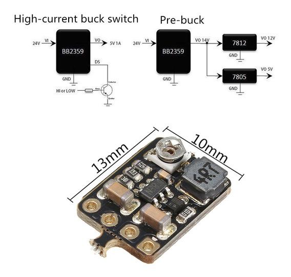 1 Pc Bb2359 Mini Dc Power Supplu Busto Set Down Módulo 1a Bo