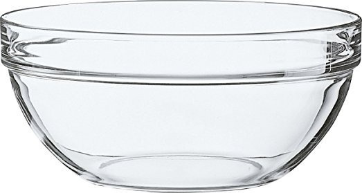 Ensaladera Bowl De Vidrio Apilable Luminarc 23 Cm