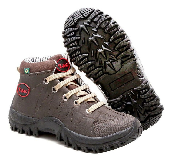 Sapato Coturno Bota Masculino Adventure Infantil Oferta