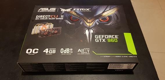 Placa De Video Asus Strix 960 Oc 4gb