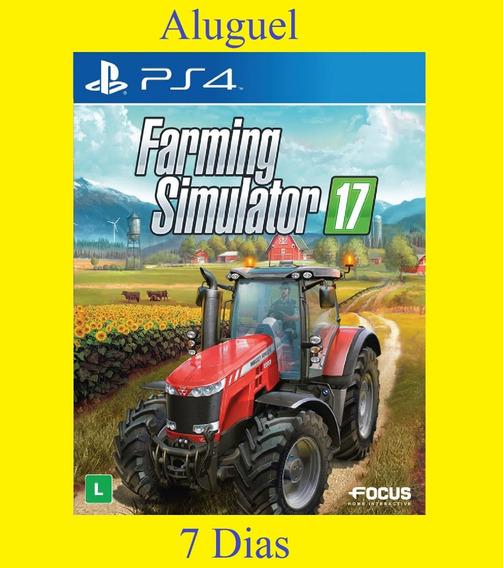 Farming Simulator 17 - Ps4 - Aluguel 7 Dias