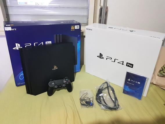 Playstation 4 Pro Modelo Cuh-7115b Ps4 1 Tb 4k Sony