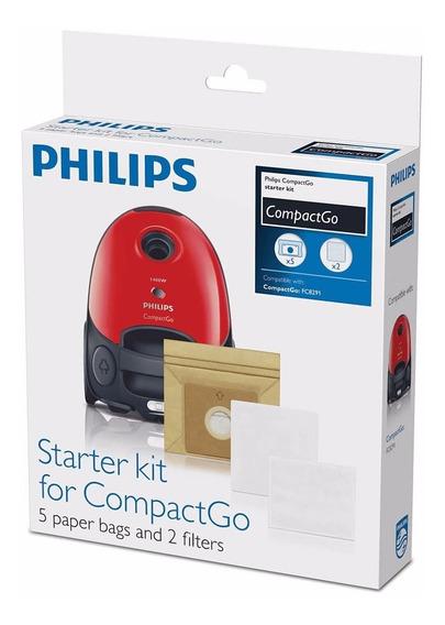 Bolsas Para Aspiradora Philips Fc8018/01 + Filtros