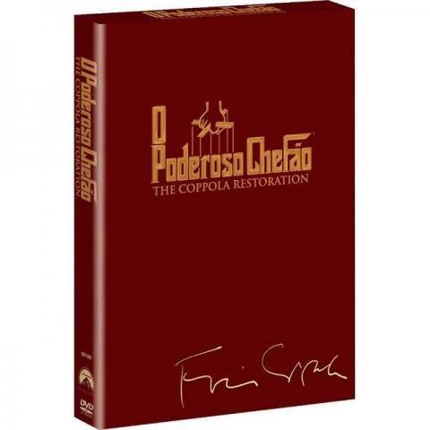 Box Dvd Trilogia O Poderoso Chefão