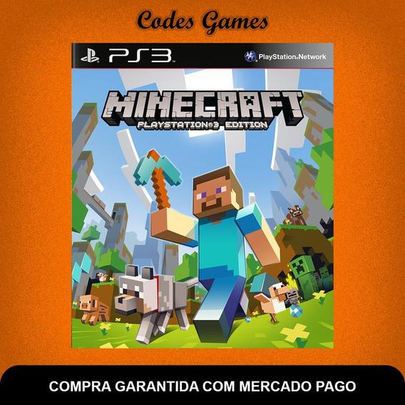 Minecraft Playstation®3 Edition - Ps3 - Pronta Entrega