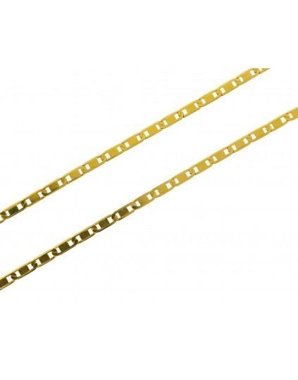 Corrente Piastrine 3 Gramas 45cm Ouro 18k Frete Grátis