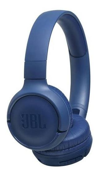 Fone Jbl Bluetooth Tune 500bt Azul Com Microrofone + Frete