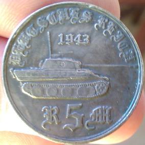 Medalha Alemanha Nazista 3º Reich Tanque Tiger I I