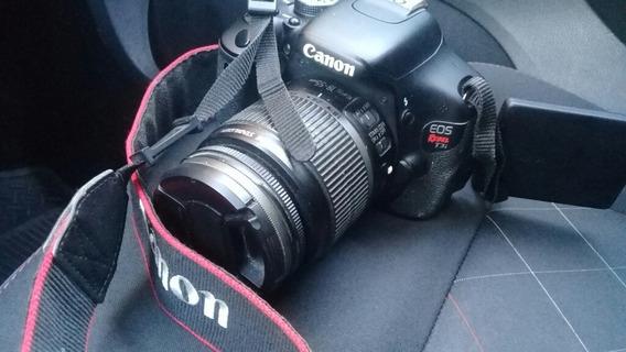 Maquina Canon Eos T3i Rebel