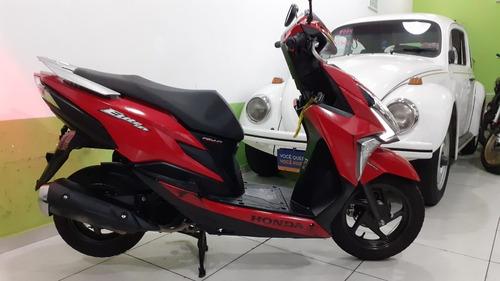 Imagem 1 de 13 de Honda Elite 125 Ano 2019