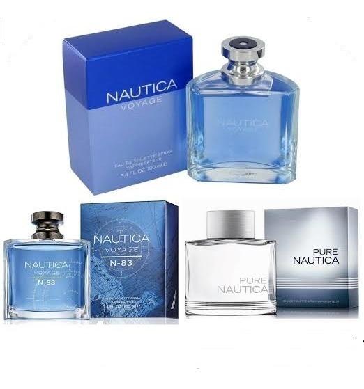 Perfume Nautica Voyage, Pure. Voyage N-83.