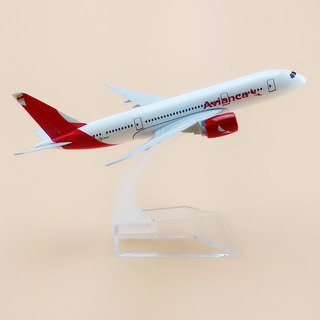 Avion Escala Avianca Airlines Avión Modelo Boeing 787 B787