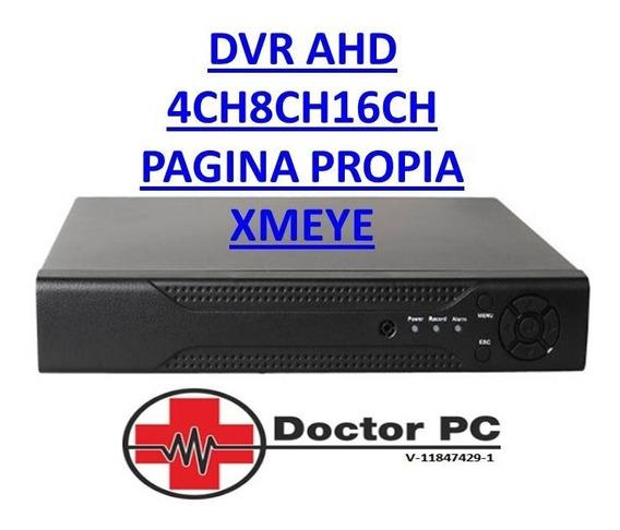 Dvr Nvr Ahd 4ch 8ch 16ch Pagina Propia Software Xmeye