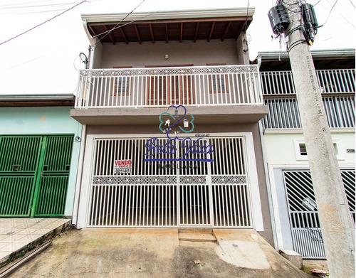 Sobrado À Venda No Jardim Morada Sol Em Indaiatuba-sp, Bela Vida Imobiliária - Ca01060 - 67853743