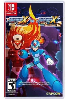 Juego Nintendo Switch Megaman X Legacy Collection 1 + 2