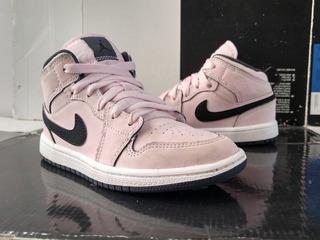 Jordan 1 Mid Pink (19cm) Retro Dunk Sb Zoom Air Forcé 1 Mvp