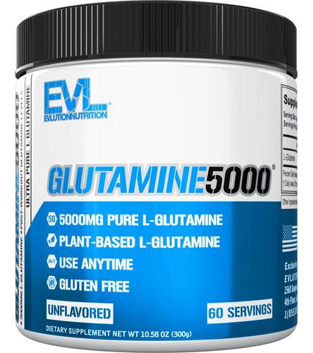 Evlution Nutrition Glutamine5000 Sem Sabor 60 Porções