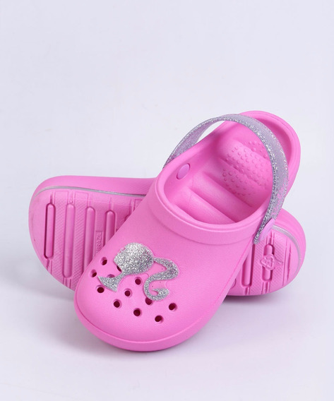 Sandália Babuche Clog Infantil Barbie Grendene Kids 21716