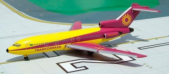 Boeing 727 Transbrasil - Aeroclassics 1/400 - Pt-tyr - Raro