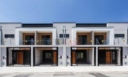 Sobrado Com 2 Dormitórios À Venda, 75 M² Por R$ 335.000,00 - São Miguel Paulista - São Paulo/sp - So3238