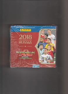 Caja De 24 Sobres De Cartas Adrenalyn Rusia 2018 Panini