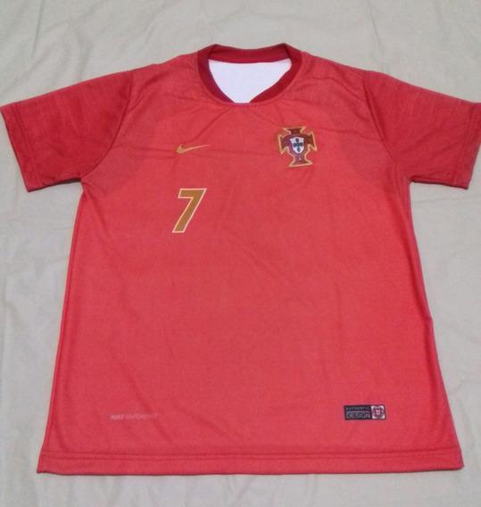 Camiseta Portugal Real Madri Cristhiano R. Juventude R7