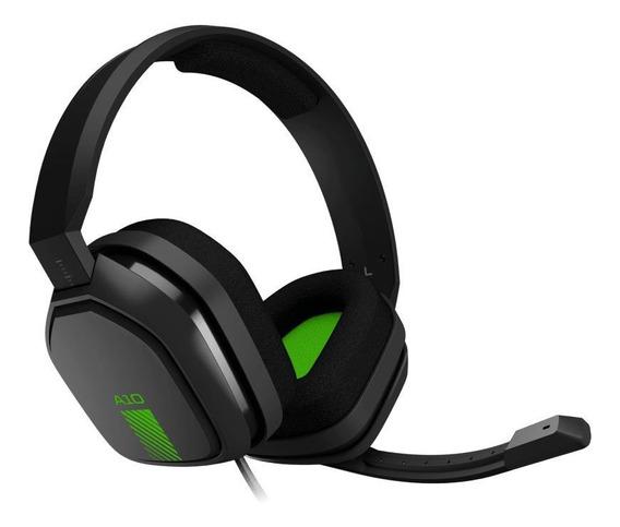 Audífonos gamer Astro A10 gray y green